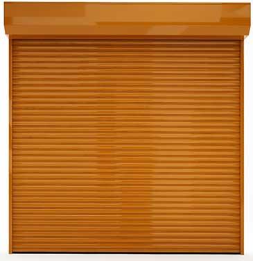 שערים אוטומטיים לבניין פרטי בפתיחה אוטומטית שערי גלילה מוטבע לוגו במחירים זולים