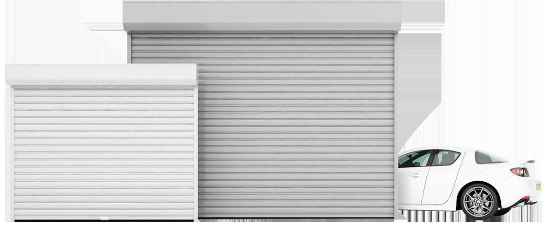 תריס גלילה חשמלי לחניה פרטית או לחניון של בית משותף שערי גלילה אלומיניום קטלוגצבעים