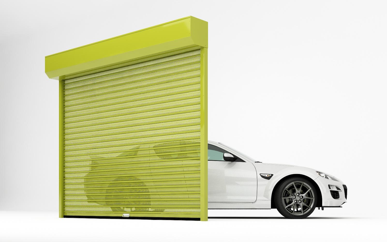 דלתות גלילה לחניה בזול