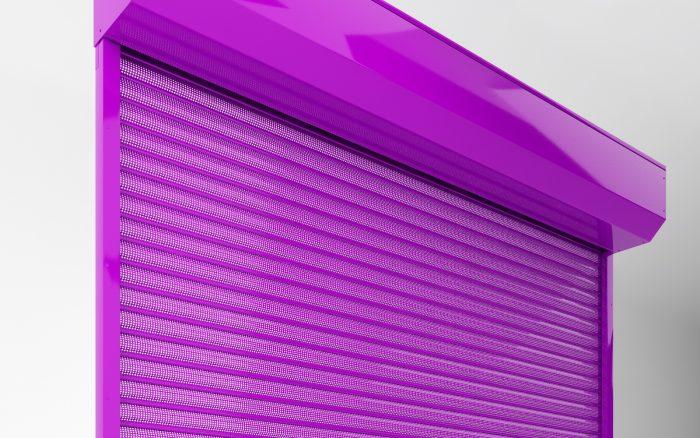 סורגי גלילה למבני תעשייה ורשתות מזון מחיר שער הרמה לבניין פרטי צבעיםשונים