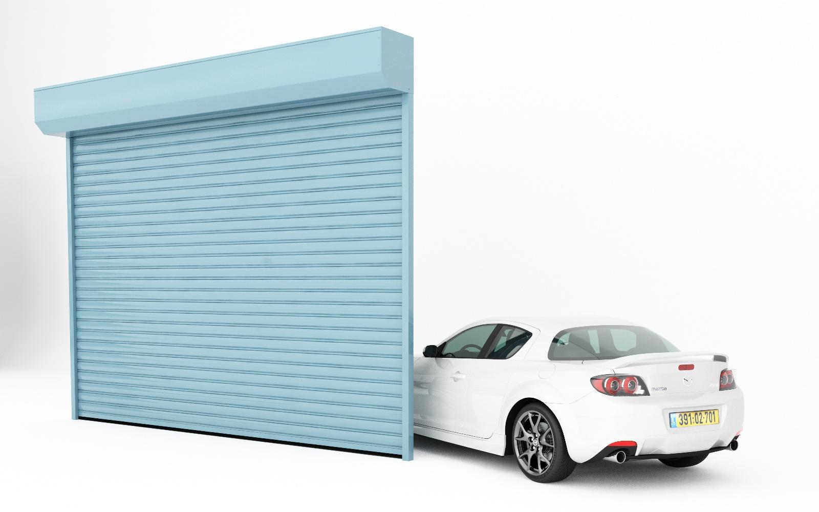 שערים מציעה דלתות מהירות סורגי גלילה אלומיניום בחירת צבעים