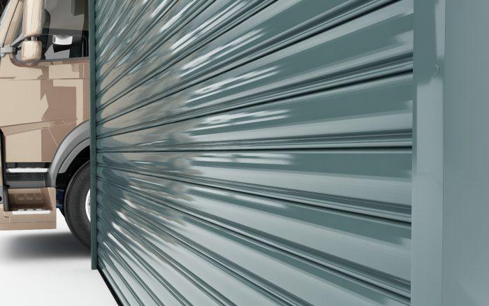 דלתות גלילה לתעשיה צבעיםשונים