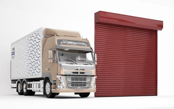 שערים מאלומיניום צביעה על ברזל מגולוון שערי כניסה לעסק או לבניין נגרר עם מנוע איכותי
